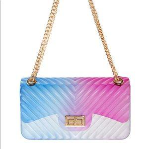 •Bubble Yum• Clear Transparent Jelly Handbag